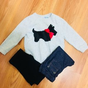 Girls Gap Outfit with 2 pants